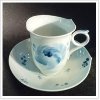 マイセン『青い花』